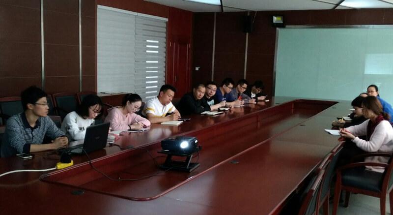上海溪村实业有限公司开展内部业务培训